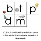 Initial Consonant Sound Identification