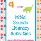 Initial Sounds Literacy Activities