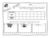 Insect Graph and Tally Mark Printable FREEBIE