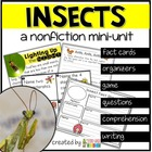 Insects Nonfiction ~ Incredible Insects