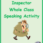 Inspecteur ER activities in French