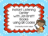 Instant Listening Center with Jan Brett Books using QR Codes