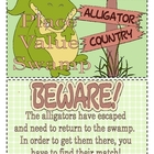 Instant Math Alligator Swamp Place Value