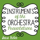 Instruments of the Orchestra- PowerPoint and Keynote Prese