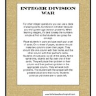 Integer Division War Game