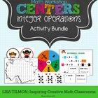 Integer Operations Activity Bundle
