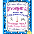 Integer Worksheet: Add and Subtract Integers
