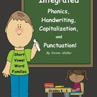 Integrated Phonics, Capitalization, and Punctuation: Short