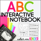 Interactive Alphabet Notebook for Pre- K and K