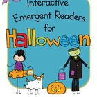 Interactive Emergent Readers for Halloween!