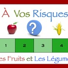 Interactive French Powerpoint Activity with Fruit and Vege