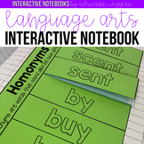 Interactive Language Arts Notebook !