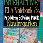 Interactive Language Arts Notebook CCSS Kindergarten