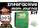 Interactive Math Journal Kit