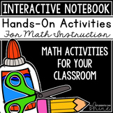 Interactive Math Notebook - Fun Activities For Your Math Journal