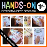 Interactive Math Notebook Hands-On First Grade Common Core