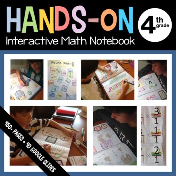 Interactive Math Notebook Hands-On Fourth Grade Common Core