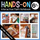 Interactive Math Notebook Hands-On Sixth Grade Common Core