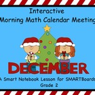 Interactive Morning Math Calendar Meeting SMARTBoard for D