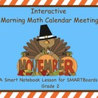 Interactive Morning Math Calendar Meeting SMARTBoard for N