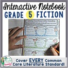 Interactive Notebook: 5th Grade Reading Literature {Cover