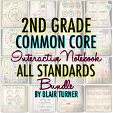 Interactive Notebook: ALL 2ND GRADE STANDARDS MEGA-BUNDLE