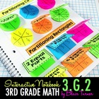 Interactive Notebook Activities - Partitioning Shapes {3.G.2}