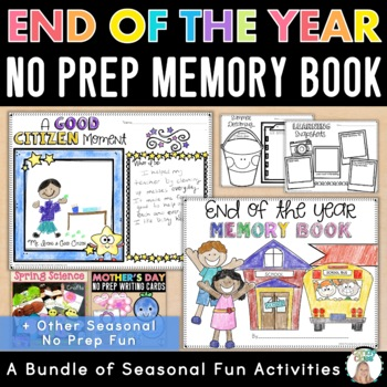 Interactive Notebook Craftivities Spring Science Edition (Life Cycles & More)