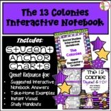 Interactive Notebook / Journal - COLONIES / COLONISTS - So