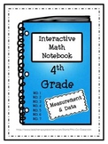 Interactive Notebook - Measurement / Data (4th Grade)