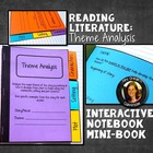 Interactive Notebook Mini Book: Theme Analysis