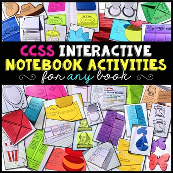 Interactive Notebook Reading Literature Bundle for Any Novel or Story