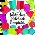 Interactive Notebook Templates 100+ (Commercial & Personal Use)