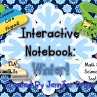 Interactive Notebook: Winter!  K-1 CC Aligned Activities F