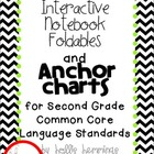 Interactive Notebook and Anchor Charts for Second Grade La