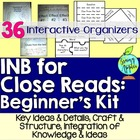 Interactive Notebook for Close Reads: Beginner's Kit