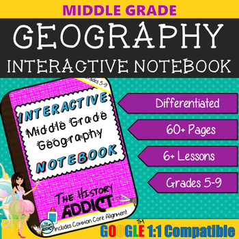Interactive Geography Notebook