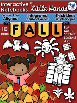 Interactive Notebooks For Little Hands FALL (110 pgs) Whimsy Workshop Teaching