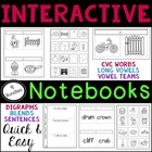 Interactive Notebooks Phonics Bundle
