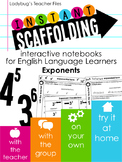Instant Scaffolding: Notebooks for English Language Learne