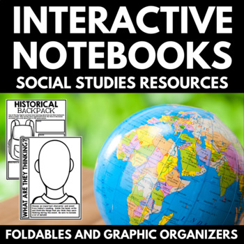 Interactive Notebooks for Middle School Social Studies: Foldables and Templates