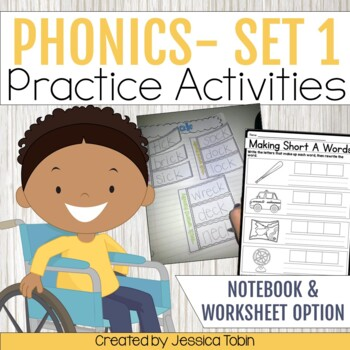 Interactive Phonics Notebooks (Short Vowels, Long Vowels, and Blends)