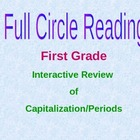 Interactive PowerPoint - Capitalization and Periods - 1st Grade