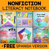 Common Core Interactive Reading Notebook - Nonfiction (Eng