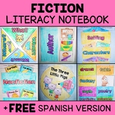 Common Core Interactive Reading Notebook - Fiction (Englis