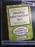 Interactive Reading Notebooks Informational Text ~ HARD CO