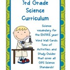 Interactive Science Notebook & Word Wall Cards {covers all