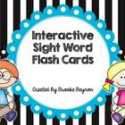 Interactive Sight Word Flash Cards