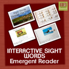 Interactive Sight Words Book for Emergent Readers