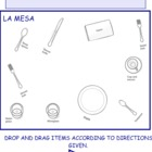 Interactive Spanish Table Setting Activity